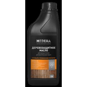 Деревозащитное масло Medera 180  2013-1  (1л)
