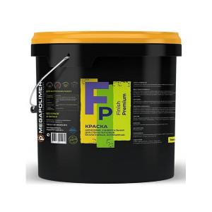 Краска акриловая интерьерная Finish Premium Megapolimer 14л