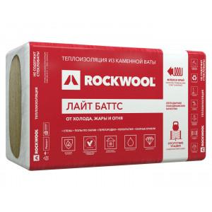 Роквул Лайт Баттс (1000х600х100мм) (3м2/0,3м3/5шт/35кг/м3) для легких стен мансард перекрытий