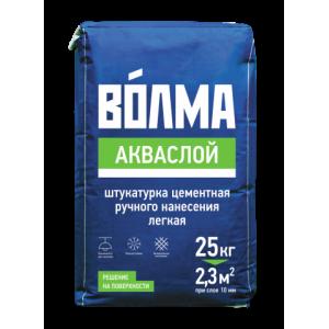 Волма Акваслой Штукатурная смесь цементная 25 кг
