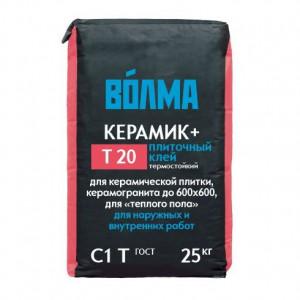 Клей плиточный Волма Керамик+ 25 кг