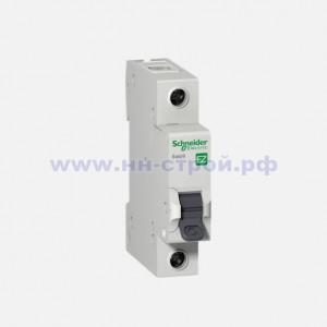 Автоматический выключатель 1P 10A C Schneider