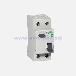 Дифференциальный автомат 1P H 25A 30mA C AC Schneider