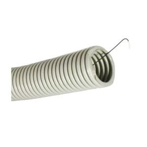 Труба ПВХ гофрированная с протяжкой д 16мм гофра IEK  (Бухта 100м)