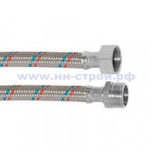 Подводка гибкая для воды сталь нержавейка 1/2 В/Н MF 600мм