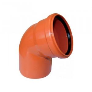 Отвод наружный D110мм 45гр (наружн. канализация)