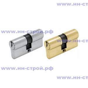 Цилиндр ШЛОСС DIN ключ/ключ (30+30) S60  хром / золото