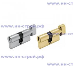 Цилиндр ШЛОСС DIN ключ/завертка (30+30) S60  хром / золото