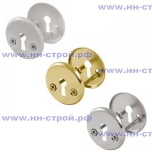 Щиток под ключ ШЛОСС 113 белый / хром / золото