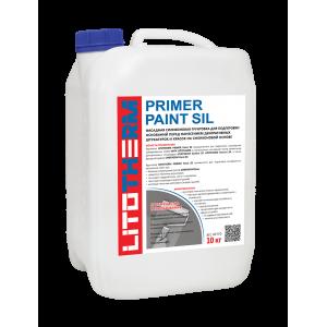 Фасадная грунтовка силиконовая LITOTHERM PRIMER Paint Sil 10кг
