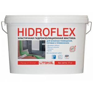 Гидроизоляционный состав Литокол HIDROFLEX зеленый 17 кг