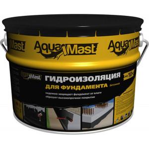 Мастика битумная для фундамента Aquamast 18 кг