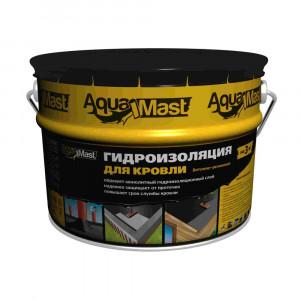 Мастика битумная-резиновая кровельная Aquamast 18 кг