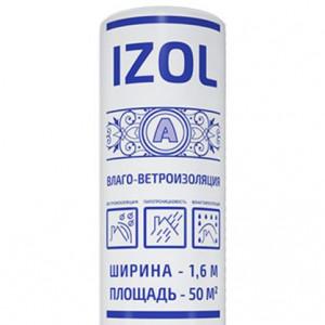 Ветро-влагоизоляция Izol A (50м2)