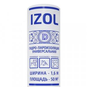 ГидроПароизоляция Izol D Изол (50м2)