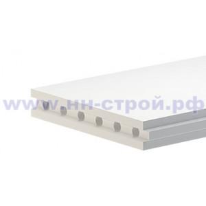 Пазогребневые плиты ПГП пустотелая Аксолит 667х500х80мм
