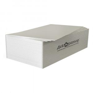 Гипсокартонный лист 12,5мм ГКЛ Декоратор 1,2х2,5м ГОСТ 32614-2012 (52шт)