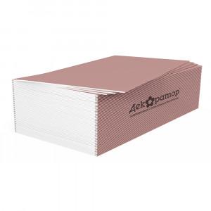 Гипсокартонный лист Огнестойкий 12,5мм ГКЛО Декоратор 1,2х2,5м ГОСТ 32614-2012 (50шт)