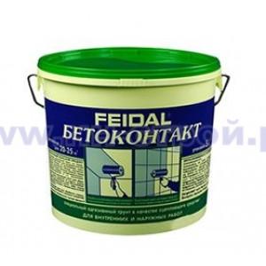 Грунтовка Бетонконтакт (20кг) FEIDAL морозостойкая