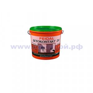Грунтовка ДВ Бетонконтакт (5кг) FEIDAL морозостойкая