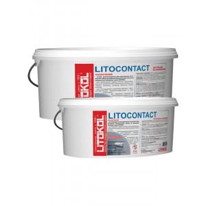 Бетонконтакт адгезионная грунтовка LITOCONTACT 10кг