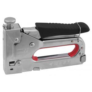 Пистолет скобозабивной металлический пружинный регулируемый тип53 4-14мм ЗУБР Мастер