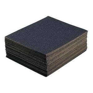 Шлифовальная шкурка N50 на тканевой основе водостойкая лист 24х17см