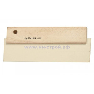 Шпатель для фуговки резиновый белый  200мм