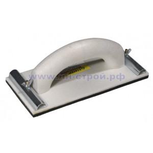 Брусок для шлифовальной бумаги и абразивной сетки 100x230мм Biber