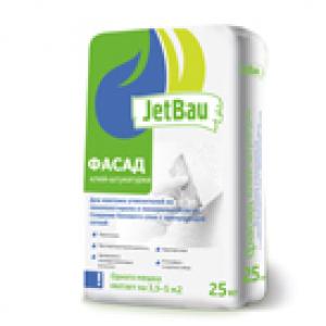Клей-штукатурка для приклеивания теплоизоляции JetBau ФАСАД (25кг)