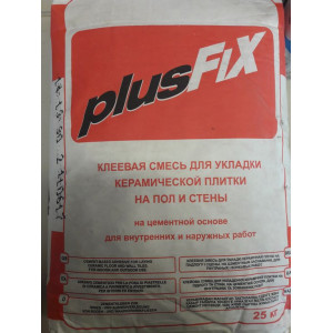 Клеевая смесь PLUSFIX Литокол 25кг