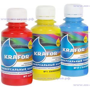 Колер KRAFOR №01 (лимонный) 100мл