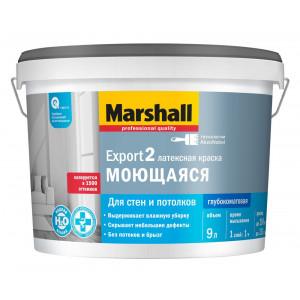 Маршал Marshall EXPORT-2 BW Краска латексная глубокоматовая (9л)