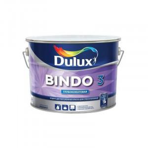 Краска латексная БИНДО 3 (2,5л) Dulux Bindo 3 BW