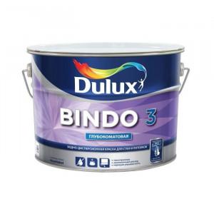 Краска латексная БИНДО 3 (4,5л) Dulux Bindo 3 BW