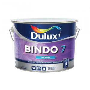 Краска латексная БИНДО 7 (4,5л) моющаяся Dulux Bindo 7 BW