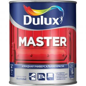 Универсальная алкидная Dulux MASTER 30 BW Белая полуматовая (1л)