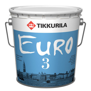 Краска латексная ТИККУРИЛА EURO MATT 3 база C Матовая (9л)
