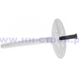 Дюбель для теплоизоляции 10х140мм с пластмассовым стержнем