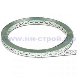 Перфорированная лента оцинкованная 20х0,5мм (25м)