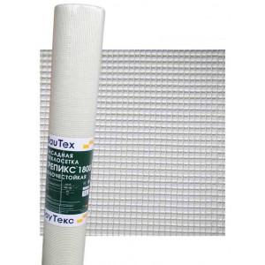 Сетка фасадная Стеклосетка Крепикс 1800 БауТекс 5х5мм (1х50м) 145гр/м2
