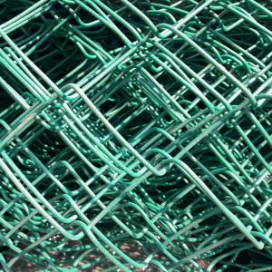 Сетка рабица ПВХ 1,5м х10м цвет ВИШНЯ (ячейка 50х50мм)