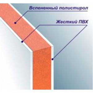 Сэндвич панели (3000х1500х10мм) пенополистирол
