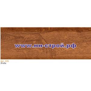 Плинтус пвх напольный T-Plast с кабель каналом 078 Ятоба 2,5м
