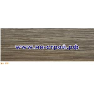 Плинтус пвх напольный T-Plast с кабель каналом 095 Акация винтажная 2,5м