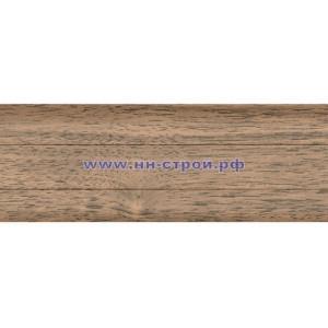 Плинтус пвх напольный T-Plast с кабель каналом 016 Пестрое дерево
