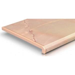 Подоконники цветные ПВХ Danke Onyx Розовый оникс (пм)
