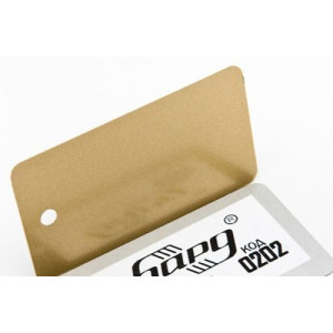 Металлик золото Торцевой профиль БАРД (мп)