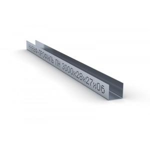Профиль направляющий ПН 27х28 Knauf Кнауф Потолочный 0,6мм