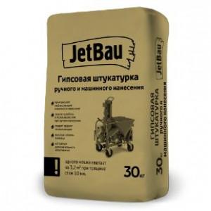 JetBau Гипсовая штукатурка машинного нанесения Белая 30кг ГОСТ 31377-2008